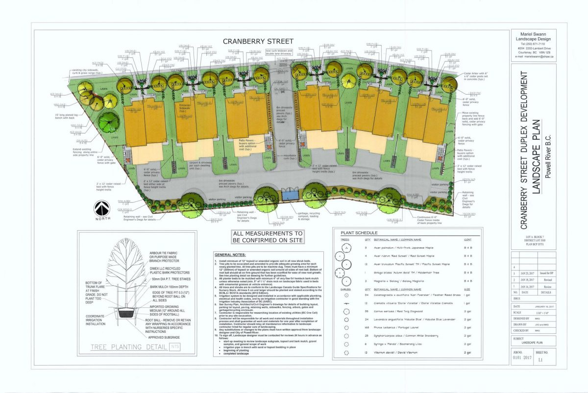 Wys Headwaters Green Community lot plan