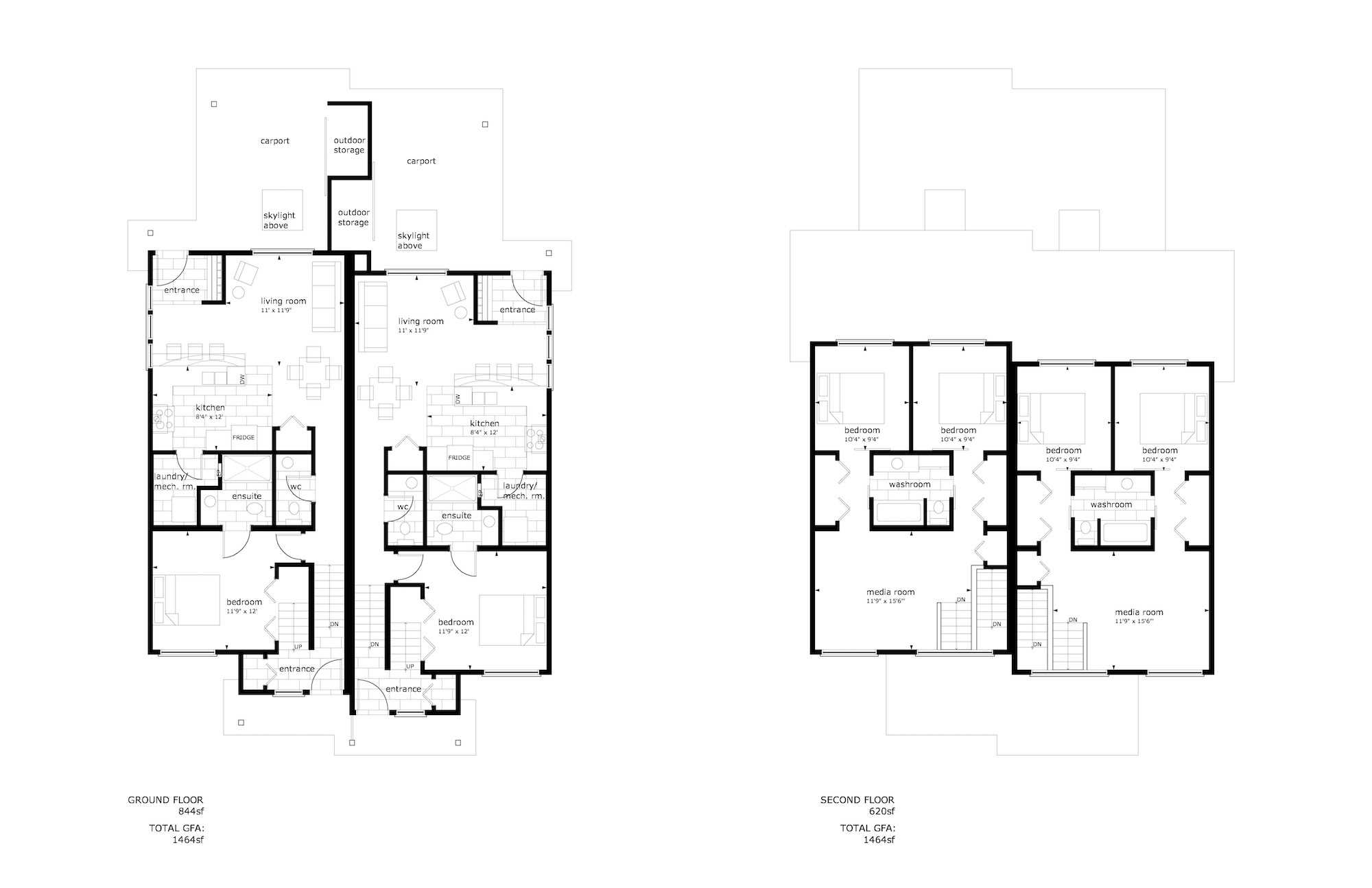 Wys Headwaters Powell River Duplex Floor Plan